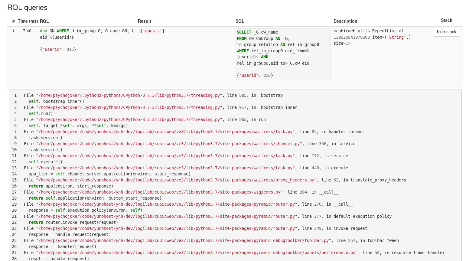 doc/_static/debugtoolbar_rql_traceback_panel.png